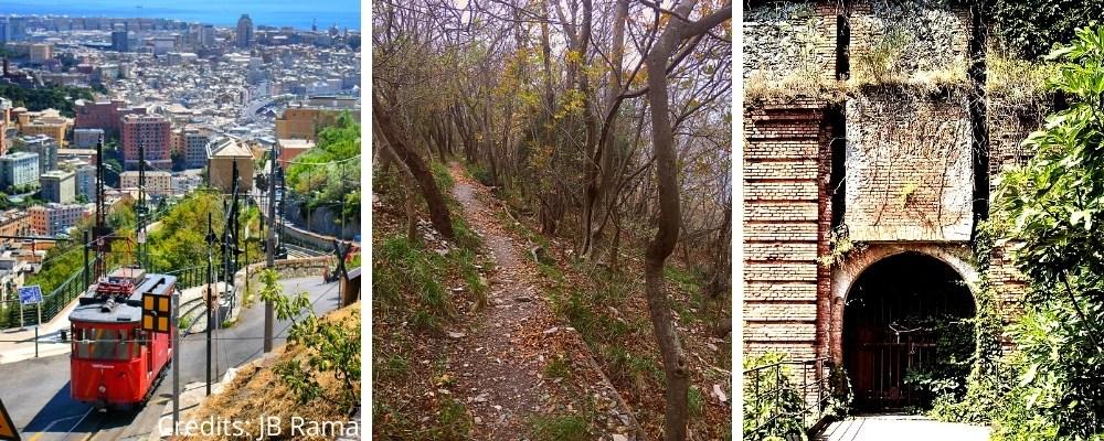 citygame tour genova dai monti trekking nel parco urbano delle mura